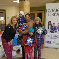 Ottawa Charity Pajama drive