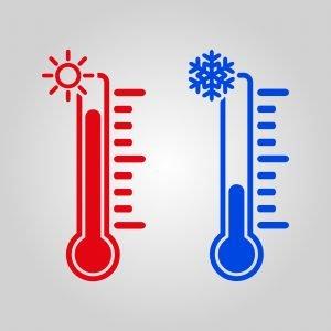 spring temperatures