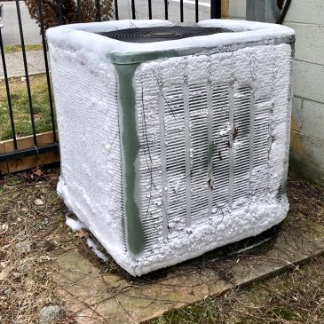 How To Deal with Your Air Conditioner When It's Frozen